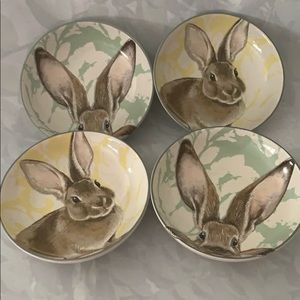 Williams Sonoma Bunny Appetizer Bowls